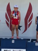 Elle Cocco, Mt Pleasant Track Club, National Champion 8 & Under Girls Javelin
